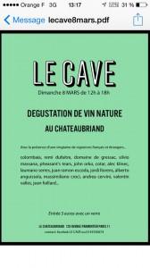 Dégustation le cave